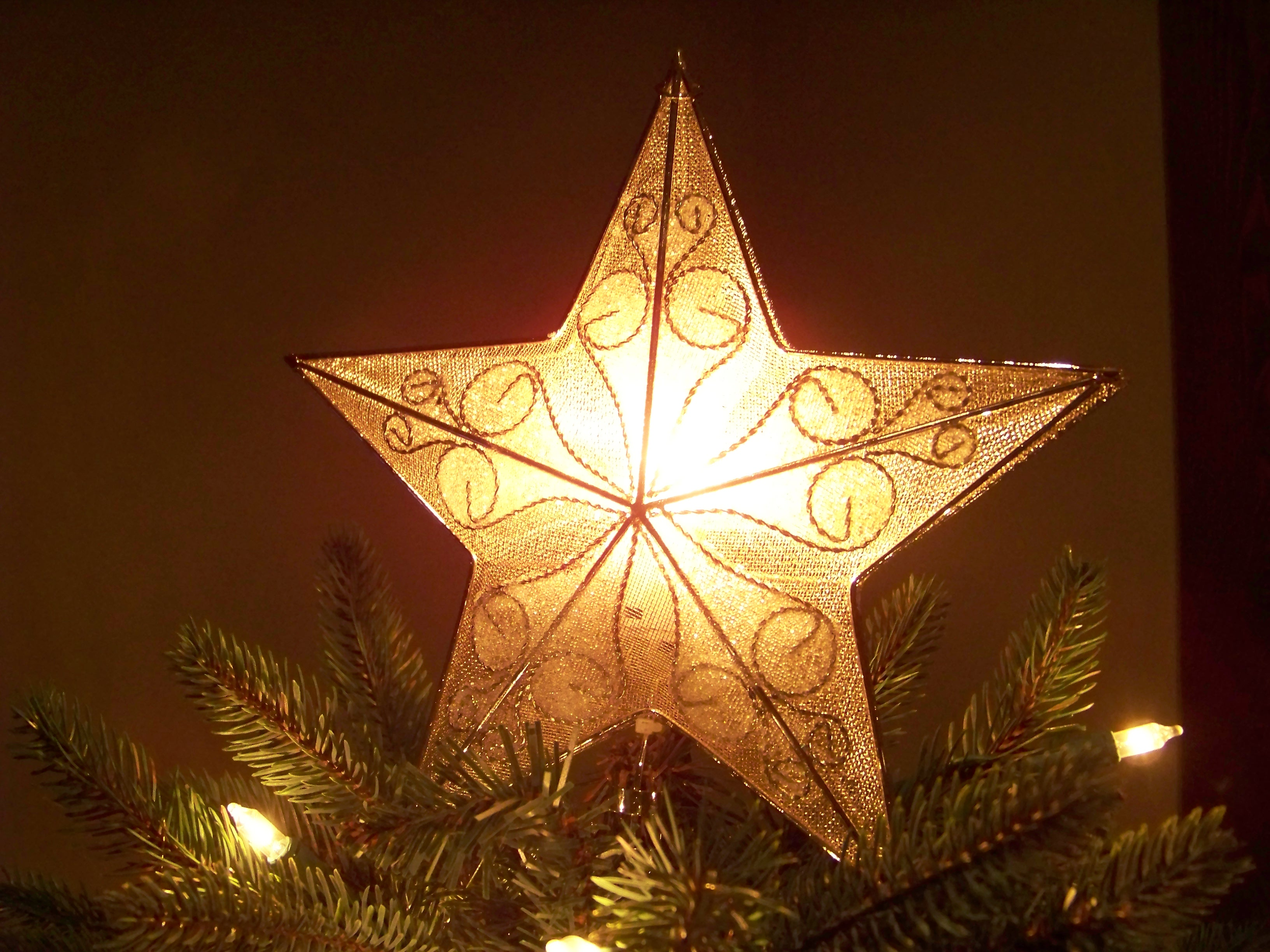 Christmas tree star | Curtiss Ann Matlock