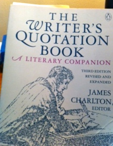 Writer's Quotation Book